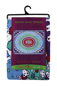 Grateful Dead Purple Bears Tapestry