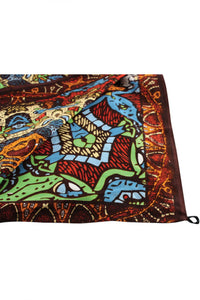 3D Grateful Dead Bear Vibrations Tapestry