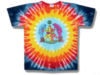 Grateful Dead Wood Bears Youth tie dyed t-shirt