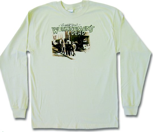 Grateful Dead Workingman's Dead Long Sleeve - eDeadShop.com
