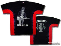 Bob Dylan t shirt -Money Tour- tie dye shirt