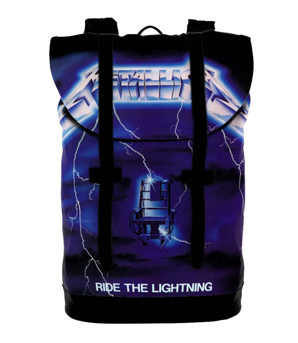 Metallica Ride the Lightning Heritage Bag Backpack