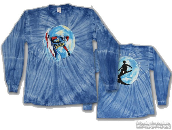 Grateful Shred tie dyed Long Sleeve t-shirt