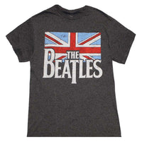 Beatles Distressed British Flag T-Shirt