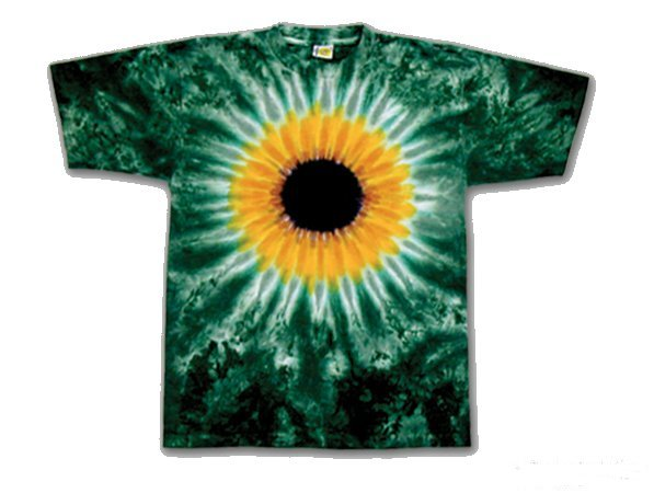 Sunflower Youth tie dye t-shirt