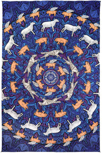 3D Pink Floyd Animals Tapestry 60x90 - eDeadShop.com