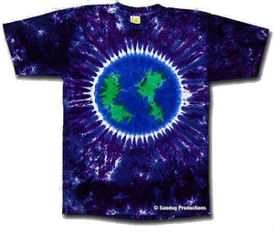 Earth Tie Dye t-shirt - eDeadShop.com