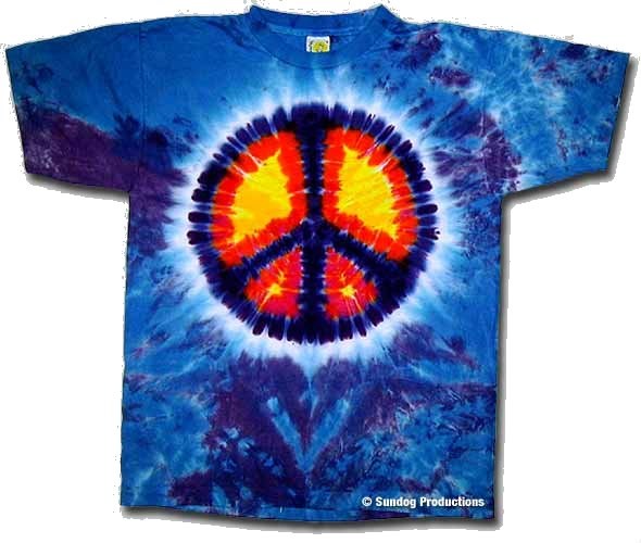 Peace Sign Tie Dye t-shirt