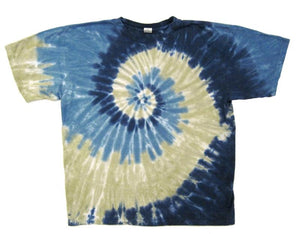 Waterfall Tie Dye t-shirt - eDeadShop.com