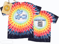 Woodstock Chrome tie dye t-shirt