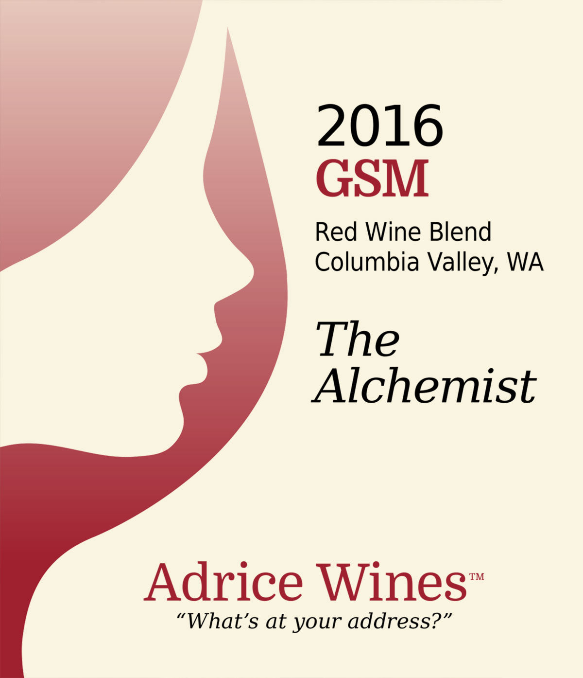 2016 GSM - Red Blend - The Alchemist  (750ml)