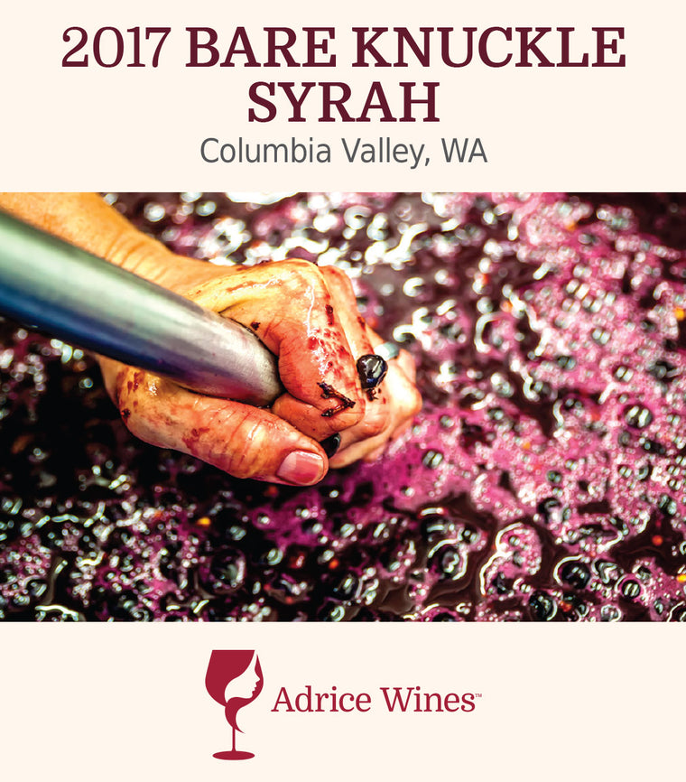 2017 Bare Knuckle Syrah (750ml)
