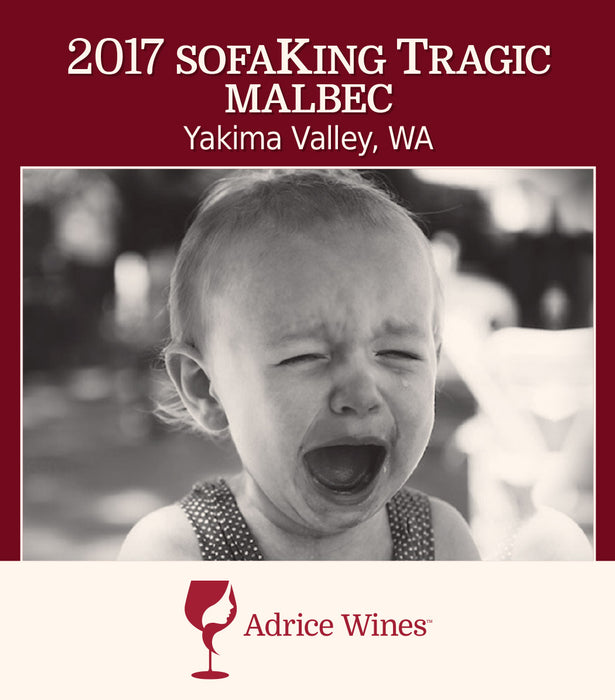 2017 sofaKing Tragic Malbec (750ml)