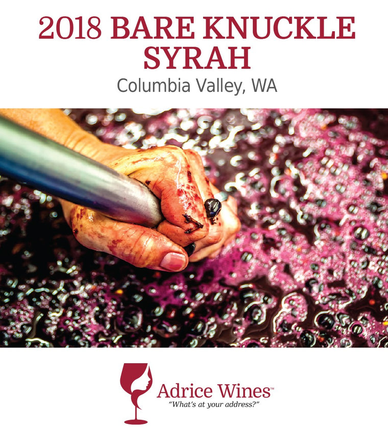 2018 Bare Knuckle Syrah (750ml)