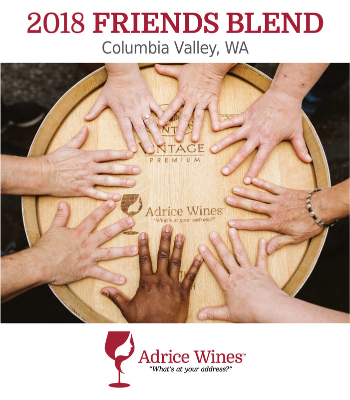 2018 Friends Blend Washington Red Wine (750ml)