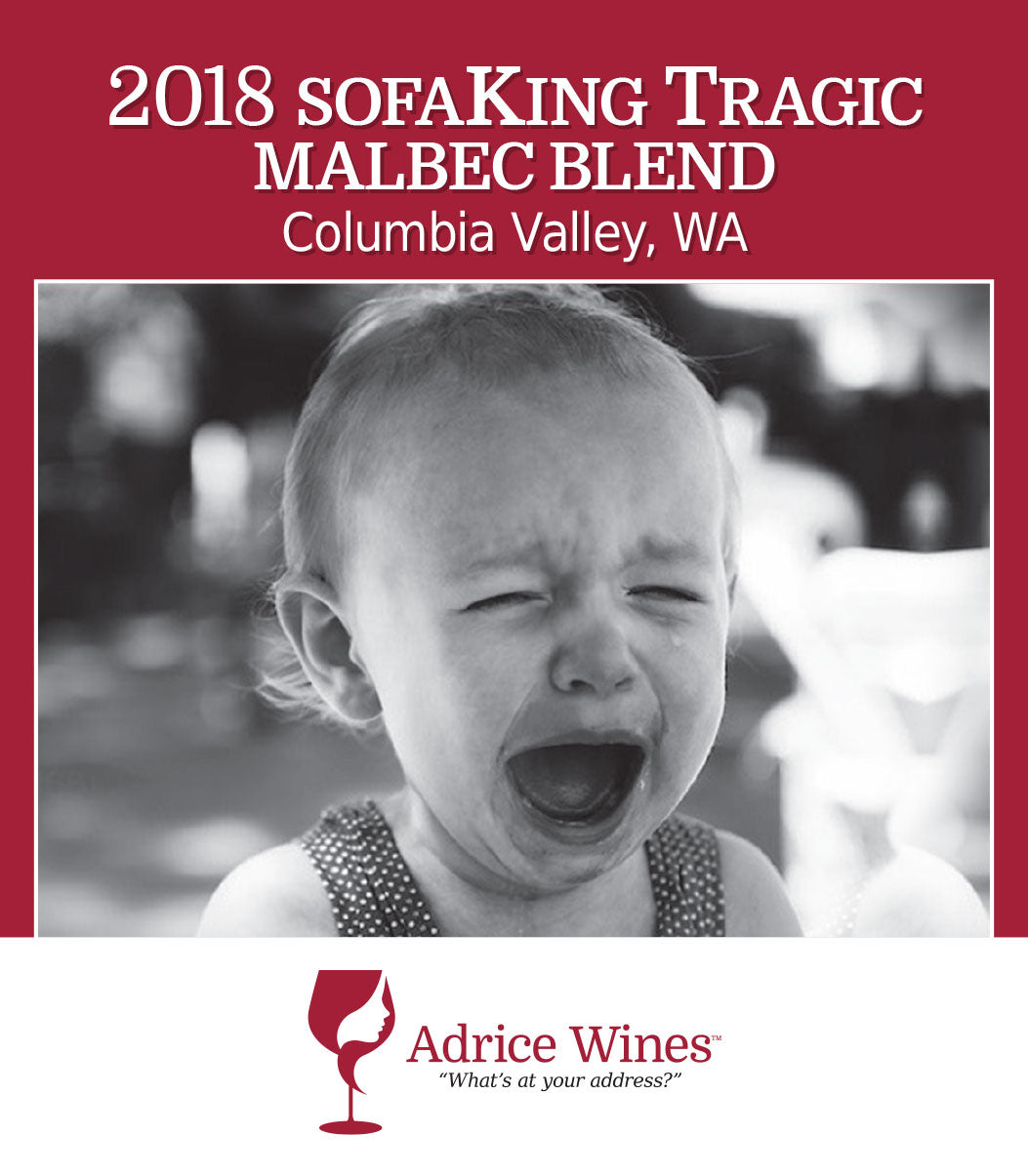 2018 sofaKing Tragic Malbec Blend (750ml)
