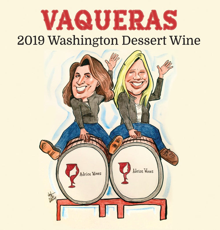 2019 Vaqueras Washington Dessert Wine (500ml)