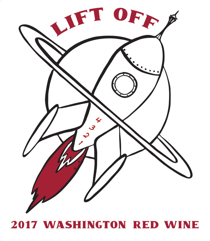2017 Lift Off Washington Red Wine (750ml)