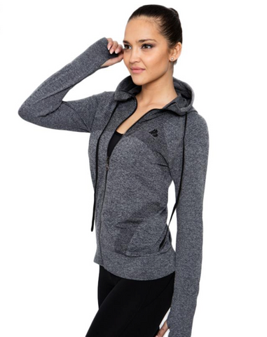 GYM/RUNNING JACKET | FITNESS/COURSE HOODIE