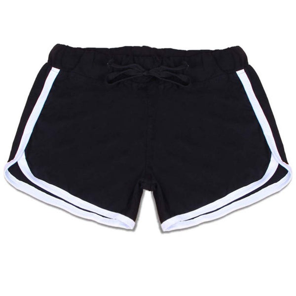 WHITE LINE ON COLORED SHORT | LIGNE BLANCHE SUR SHORT COLORÉS