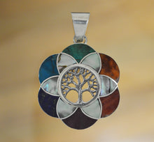 Load image into Gallery viewer, Tree of Life Silver Pendant