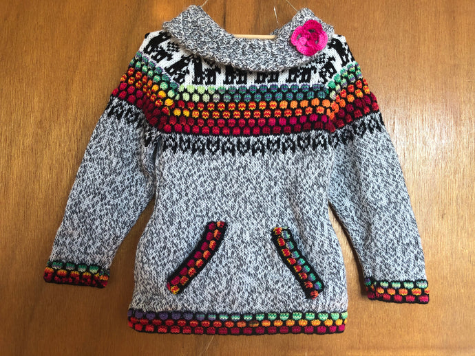 Girl's Wool Sweater