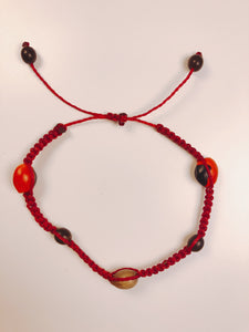 (Huacaria Collection) Laced Huayruro Bracelet