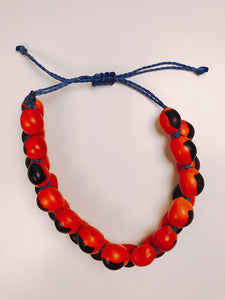 (Huacaria Collection) Large Huayruro Seeds Bracelet