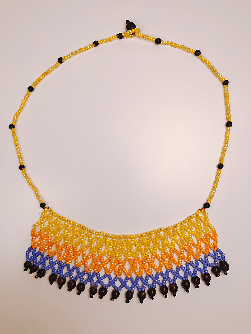 (Huacaria Collection) Amazonian Piñe Necklace