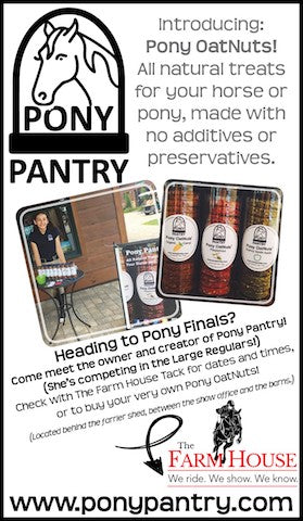 Farm House Tack Plans Huge Pony Finals Event with Pony Pantry!