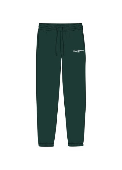 Tomorrow's Problem Sweat Pants Forest Green