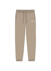 Tomorrow's Problem Sweat Pants Cappuccino