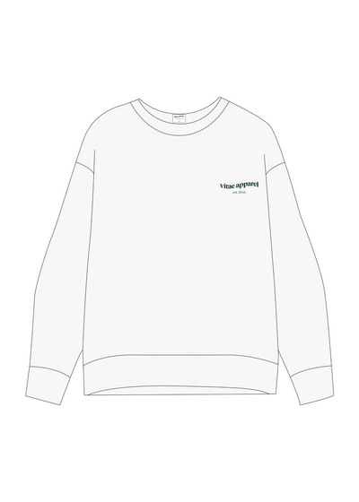 All Day Everyday Crewneck Whipped Dream