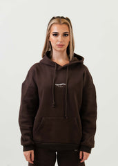 The Better than your BFs Hoodie Dark Chocolate