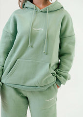 The Better than your BFs Hoodie Melon Green