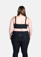 Ultra Boost Ribbed Sports Bra Black