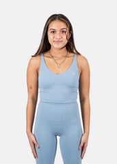 Vibe Higher Tank Top Sky Blue