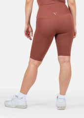 Ultra Flex Seamless Biker Shorts Chocolate Mocha