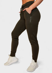Warm Up Joggers Olive Green