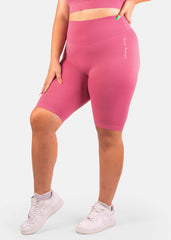 Ultra Scrunch Seamless Biker Shorts Watermelon Pink