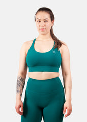 Ultra Support Sports Bra Emerald Green