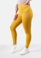 Ultra Flex Seamless Leggings Mustard