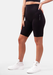Ultra Flex Seamless Biker Shorts Black