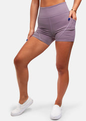 Find Your Fire Pocket Shorts Light Mauve