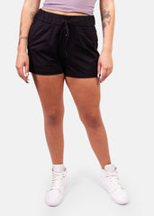 The Conqueror Shorts Black