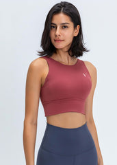 Hyper Flow Sports Bra Ruby Red