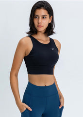 Hyper Flow Sports Bra Black