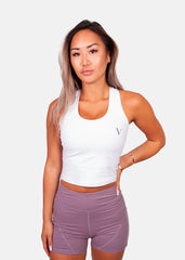 The Victory Tank Top White