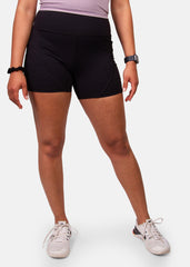 Find Your Fire Pocket Shorts Black