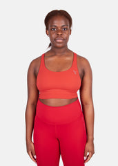 Hyper Lift Sports Bra Ruby Red